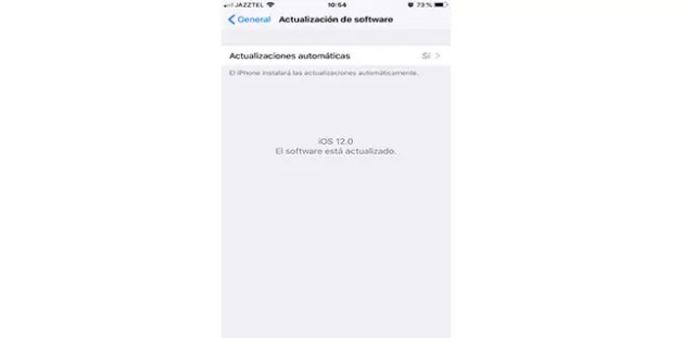 Activar las actualizaciones de confianza en iOS