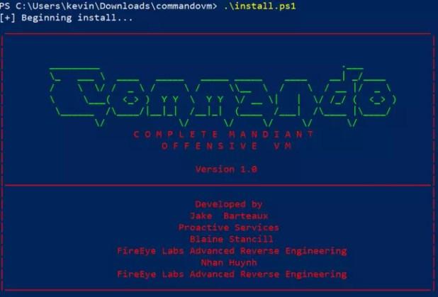 Instalando Commando VM