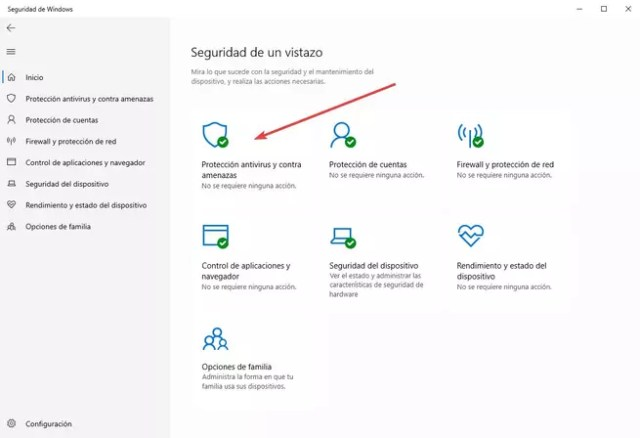 Protección contra alteraciones - ©Windows Defender - 1