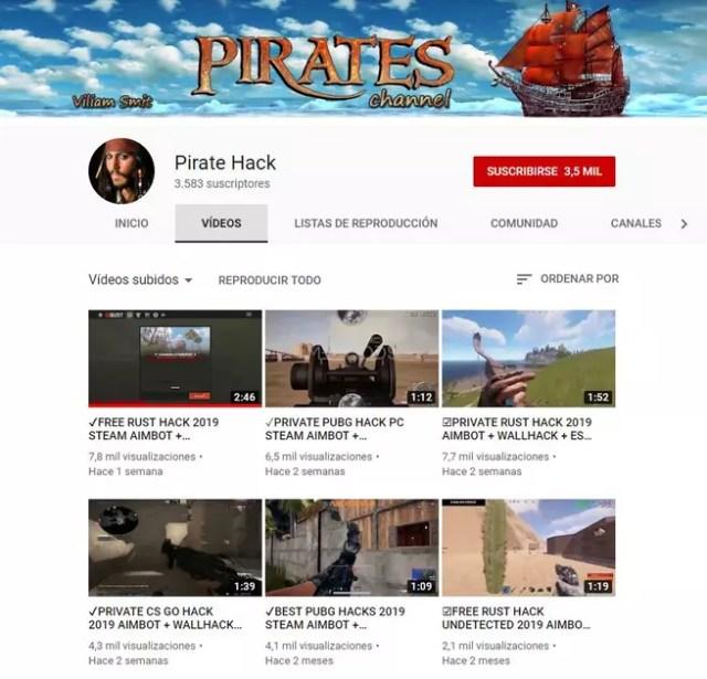 Pirate Hack Troyanos YouTube