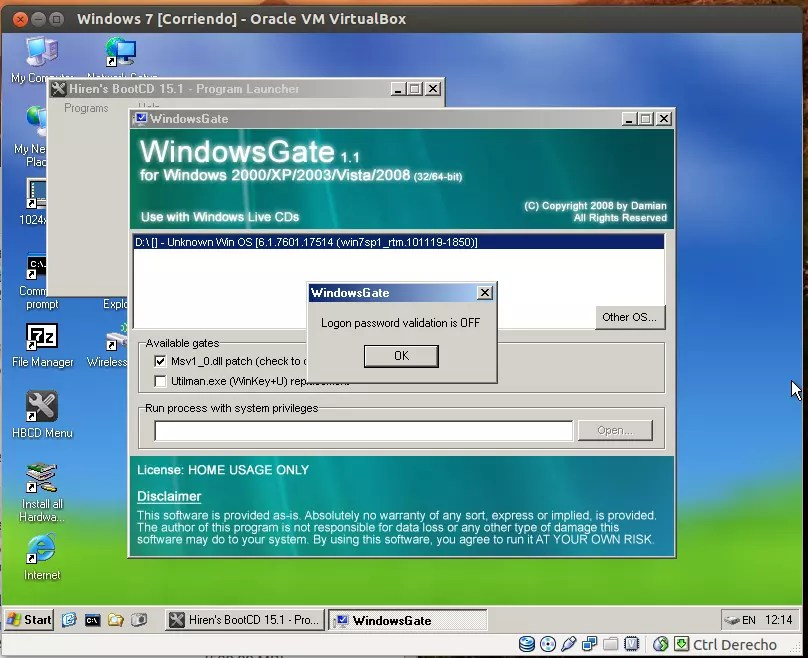 Eliminar clave Windows 7 - 06
