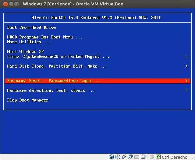 Eliminar clave Windows 7 - 07