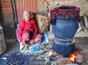 Nepali village
