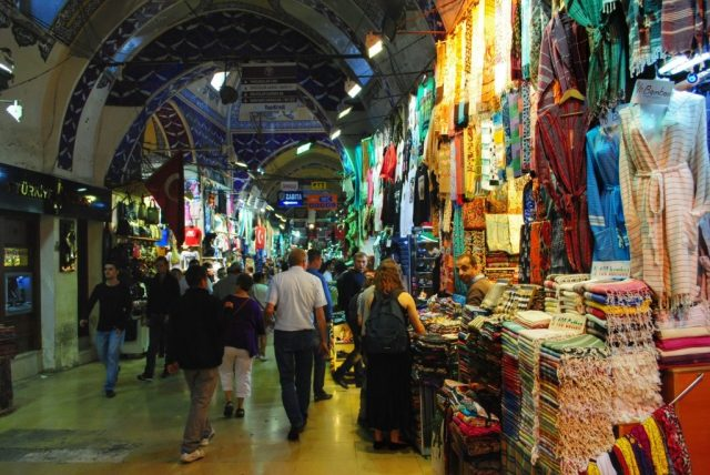 places to visit in Istanbul. Grand Bazaar