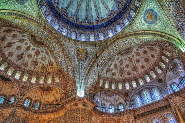 places to visit in Istanbul. Blue Mosque