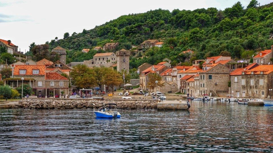 island hopping in Croatia
