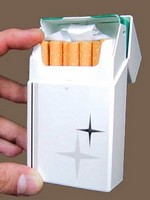 lockingcigarettecase small Locking cigarette case.