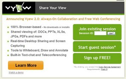 vyew small1 Vyew   cool, free desktop sharing and collaboration