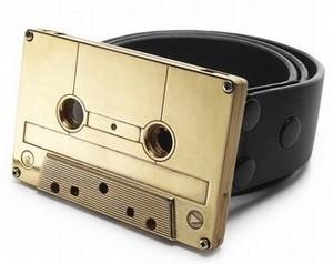 Goldcassettebeltbuckle