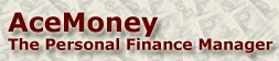 acemoneylite small AceMoney Lite   free software tracks where the moneys at