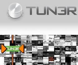 tun3r small Tun3r   super smooth internet radio directory
