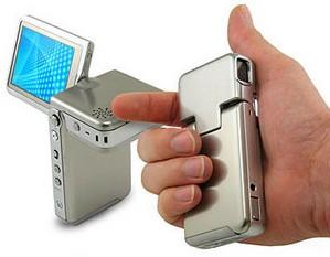 Microstainlesssteelcamcorder