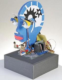 botbrainanimatronichead2 small BotBrain   build your own animatronic robot head
