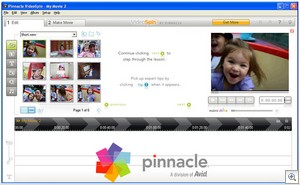 videospin3 thumb VideoSpin   new free video editing program from Pinnacle