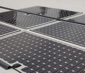 powerplystickysolartiles2 small PowerPly Self Adhesive Solar Panels   just peel off the backing and stick to your roof
