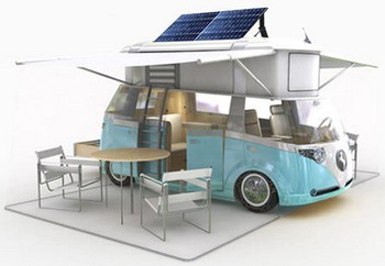 verdiercamper small Westfalia Verdier Solar Powered Camper   awesome camper concept needs to get made