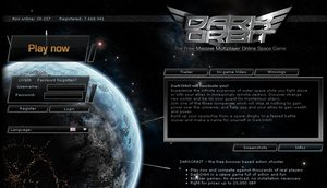 darkorbit Dark Orbit   space, the final browserware