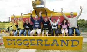 Diggerland – a hole load of pun