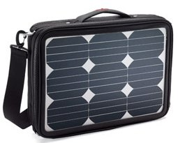 Solar Powered Laptop Bag – surprise, an eco computer bag that doesn't look totally erk…