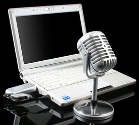 USB Retro Wireless Microphone – Skype like a crooner on an olde tyme wireless