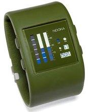 Zub Zen Watch – plastic green timepiece kind of tells the time