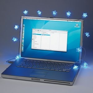 USB Fairy Lights – add a little twinkle to your cubicle.