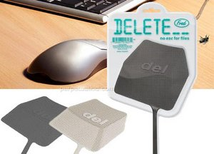 Delete Fly Swatter – warning no undo