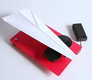 Electric Paper Plane Launcher – perfect for lectures