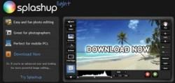 Splashup Light – cool Adobe Air based image editor