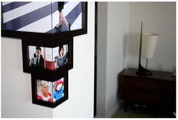 Wrap Around Corner Frame A Photo Frame That Sees Around Corners
