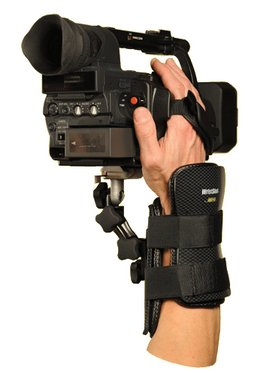 WristShot – camera support for mobile camera people