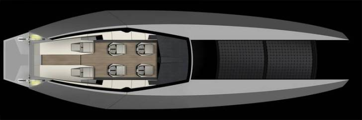 Code X Yacht – Formula 1 powered ultra boat built by the Cylons