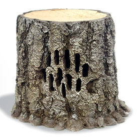 Tree Stump Outdoor Speaker – you'll be stumped without it