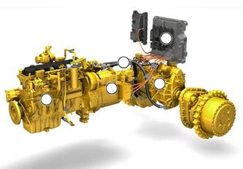 Caterpillar D7E – Diesel-Electric Hybrid Bulldozer