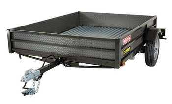 Craftsman Fold Up Trailer – good things come in flat packages
