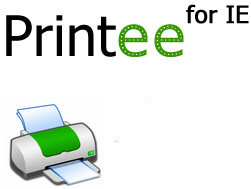 printeeforie Printee for IE   super new freeware lets you print out web pages the way you want