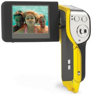 underwatercamcorder small Underwater Camcorder   capture the sights and sounds of fishy bachelor parties close up