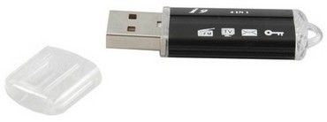 usbmultimediakey small USB Multimedia Key   uber dongle puts the v back into versatile