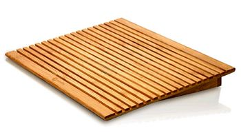 image 157 ECOFan Bamboo cooling stand   Like a washboard for laptops