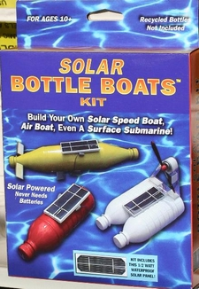 Solar powered boat kit 1