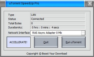 utorrentspeeduppro small uTorrent SpeedUp Pro   freeware speeds up your BitTorrent downloads?