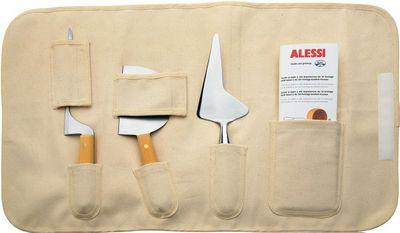 Alessi La Via Lattea – Very serious cheese knife set