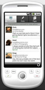 wpforandroid small WordPress for Android   blog yourself stupid
