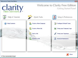 Clarity Free Edition CRM – small business freeware for managing your company
