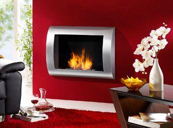 Kamin Maxx – Wall mounted alcohol burning fireplace