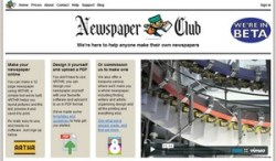 Newspaper Club – make your own printed newspaper and craft an empire…buwahahaha
