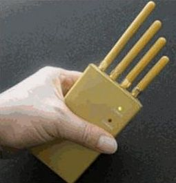 3W High Powered Handheld Cell Phone Jammer – For the anti-social one in your life
