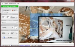 Easy Poster Printer – freeware lets you create large posters from your photos