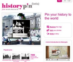 History Pin – the new Google Maps time machine