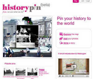 historypin small History Pin   the new Google Maps time machine